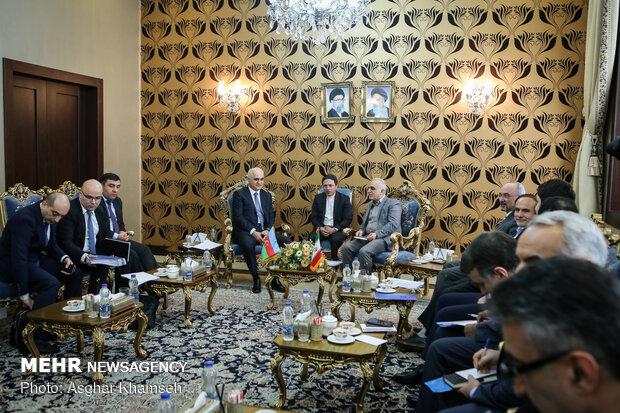 دیدار وزیر اقتصاد و صنعت جمهوری آذربایجان با وزیaİran ve Azerbaycan ekonomi bakanları görüştüر اقتصاد