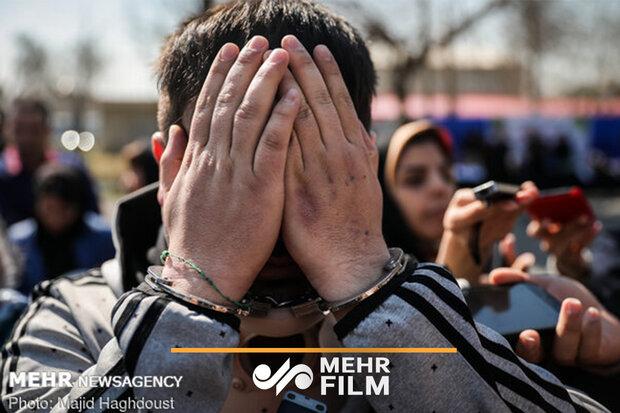 ۲۸۰ نفر از اراذل و اوباش تهران دستگیر شدند