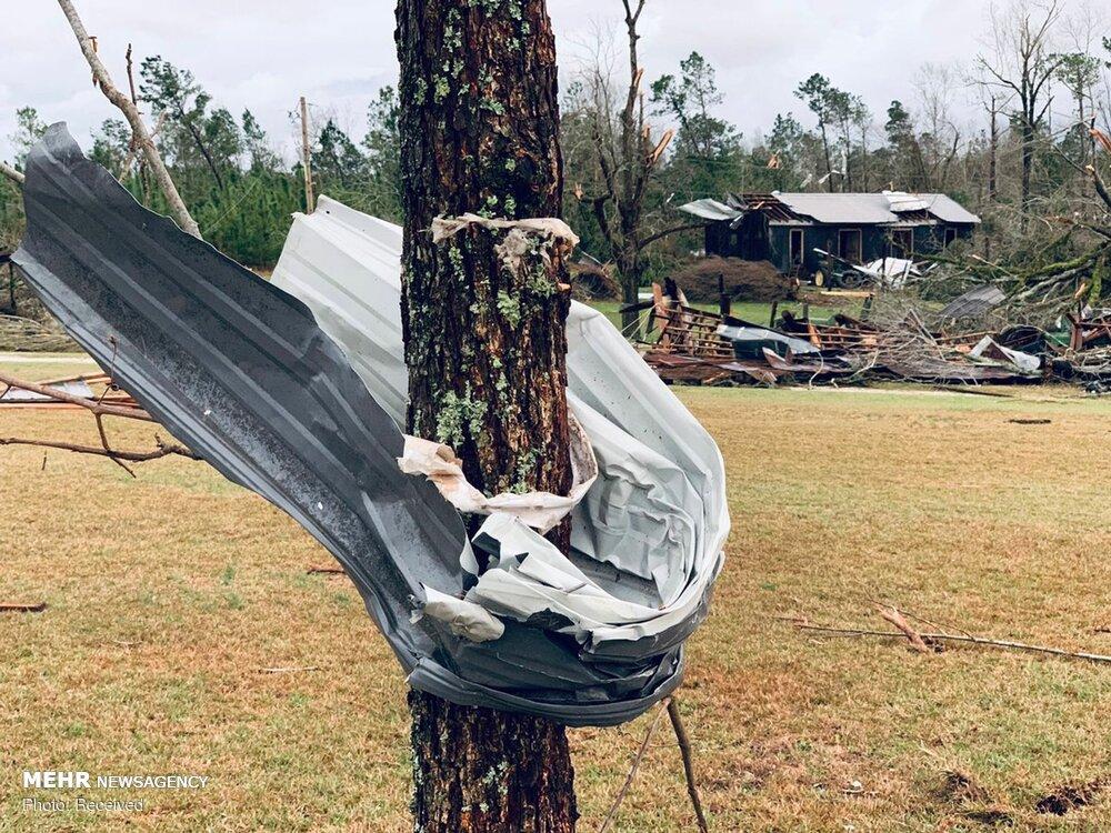 طوفان در آلاباما
