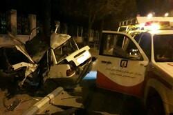 حادثه رانندگی در کرمان منجر به مرگ یک نفر شد