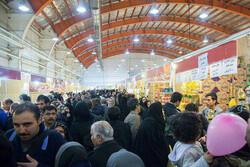 نمایشگاه فروش بهاره در قزوین افتتاح شد