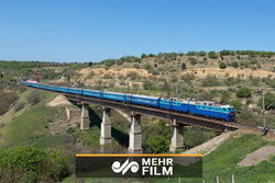خط آهن قزوین، رشت امروز افتتاح میشود