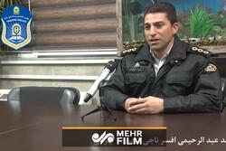 پلیسی که ناجی جان یک شهروند تهرانی شد