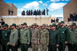 تشییع پیکر شهید حمید محمدرضایی در تاکستان