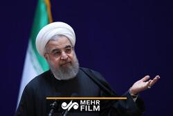 با حضور روحانی در گیلان چندین طرح افتتاح شد