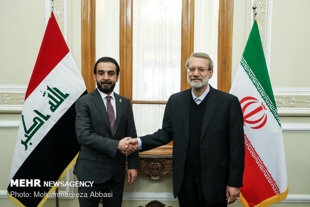 İran ve Irak meclis başkanları görüştü