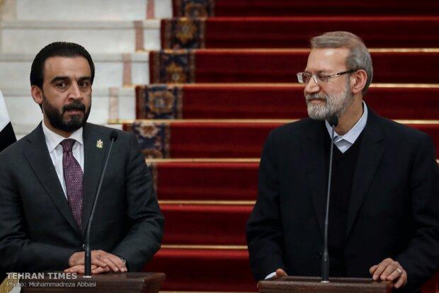Iran, Iraq parliament speakers meet in Tehran