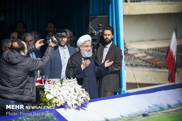 سفر حسن روحانی رئیس جمهور به استان گیلان