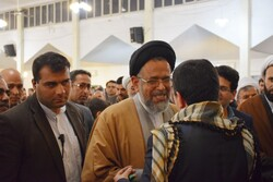 Iran's Intelligence min. visits Shalamcheh border