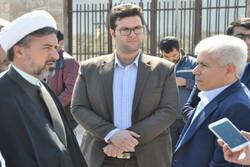 بازدید مدیر کل بازرسی استانداری تهران از پروژه های صالحیه