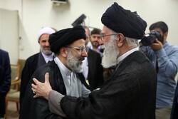 تعيين حجة الاسلام رئيسي رئيساً للسلطة القضائية