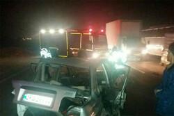 جزئیات تصادف در محور ورامین- تهران اعلام شد