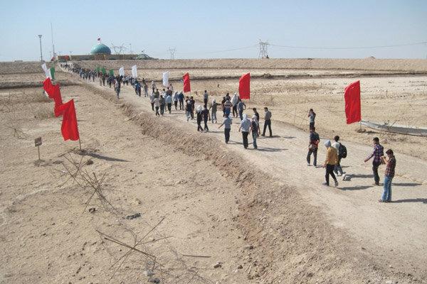 ۲۰ هزار گیلانی از مناطق عملیاتی بازدید کردند