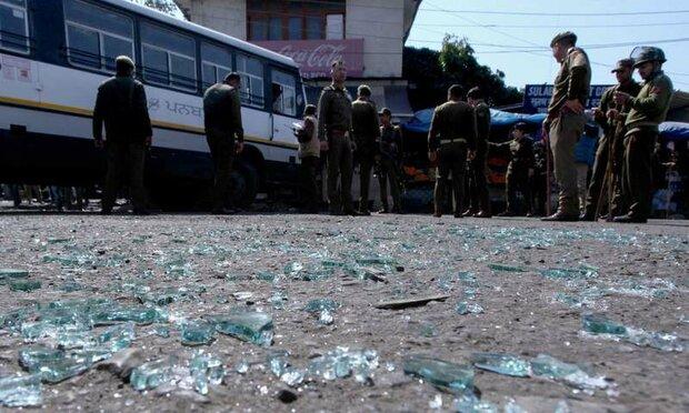 جموں میں بس اسٹاپ کے قریب دھماکے سے 18 افراد زخمی