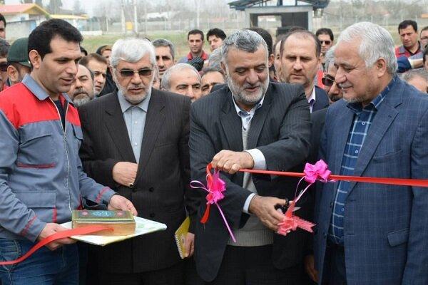 واحد استحصال و بسته بندی خاویار پرورشی در تالش افتتاح شد