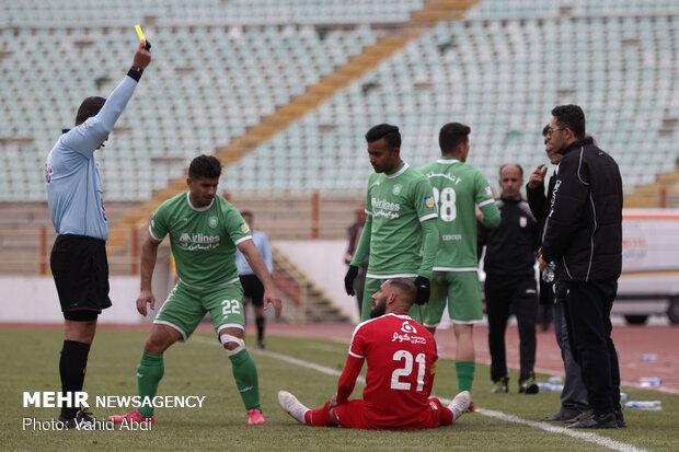 بیانیه باشگاه پدیده علیه داور بازی تراکتورسازی و کاپیتان تیم ملی