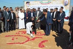 عملیات احداث ۲۵ فضای آموزشی و پرورشی در استان بوشهر آغاز شد