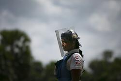 ژنانی پووچهکهرهوهی مین له سریلانکا