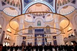 استنبول میں کاملیکا مسجد کا افتتاح