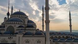 استنبول میں ترکی کی سب سے بڑی مسجد کا افتتاح