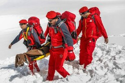 Mountain search and rescue groups on call during New Year holidays
