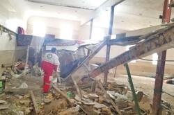 ریزش سقف یک مسجد در نوبران ساوه/ ۱۰ نفر مصدوم شدند