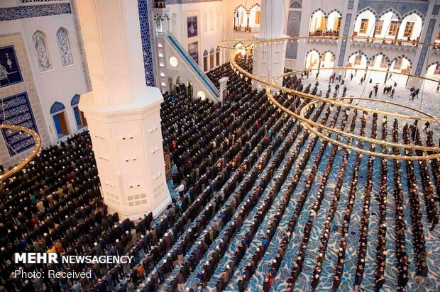 افتتاح مسجد کاملیکا در استانبول