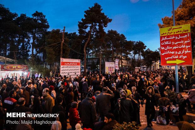 نمایشگاه فروش بهاره در مجموعه چهلسرای مصلای امام خمینی(ره)
