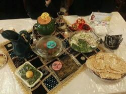 جشنواره غذا با عنوان روزی با عطر و طعم ایرانی در سنندج برگزار شد