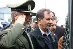 جهانگیری به شهدای استان سمنان ادای احترام کرد