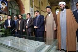 معاون پارلمانی رئیس جمهور یاد آیت الله ملک حسینی(ره)را گرامی داشت