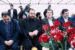 گلخانه پیشرفته تولید گل رز در شهرستان بویراحمد کلنگ زنی شد