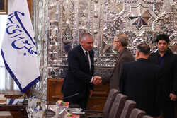 Meeting of Larijani and Bulgaria's deputy parl. speaker