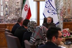 دیدار نائب رئیس مجلس بلغارستان با رئیس مجلس شورای اسلامی