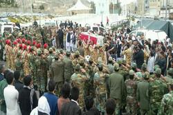 پیکر جانباز شهید «عبدالغنی هرمزایی» در زاهدان تشییع و خاکسپاری شد