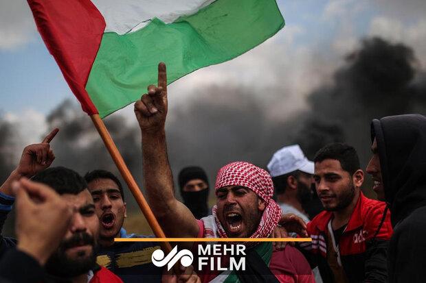 """Gazze'de """"Büyük Dönüş Yürüyüşü"""" gösterileri devam ediyor"""