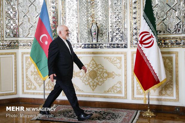 دیدار وزرای خارجه ایران و آذربایجان