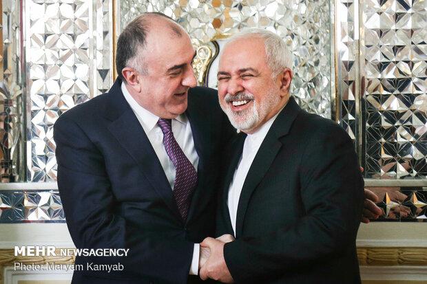 Meeting of Iranian, Azerbaijani foreign ministers in Tehran