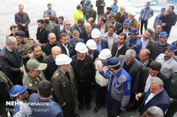 Jahangiri visits Semnan prov. to inaugurate industrial projects