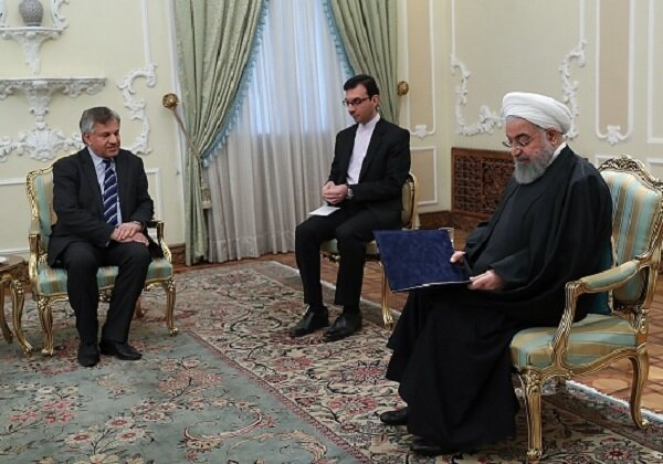 Iran-Iraq ties exceptional in region: Pres. Rouhani