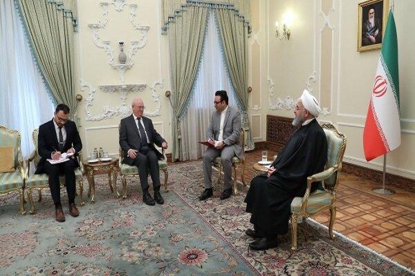 الرئيس الإيراني يدعو الدول الأوروبية للتعويض عن ثغرة انسحاب أميركا من الاتفاق النووي