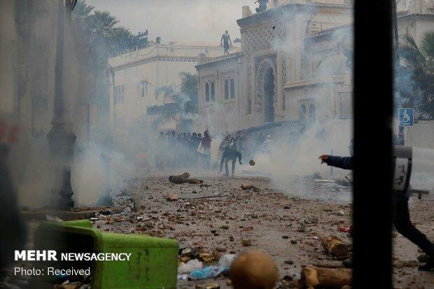 Cezayir'de protesto