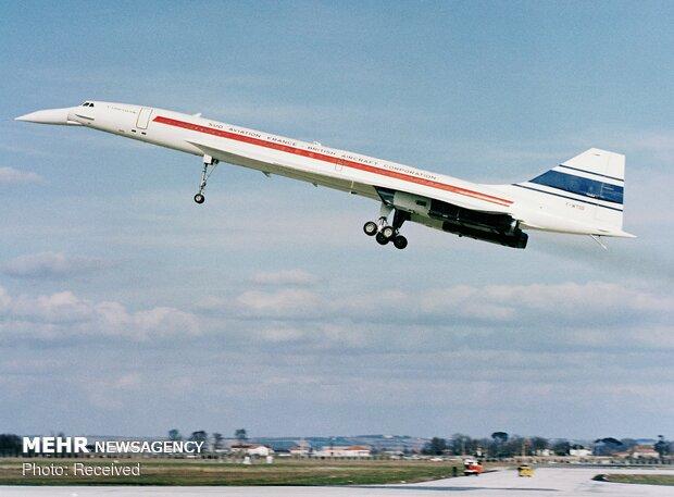 پنجاهمین سالروز پرواز هواپیمای کنکورد