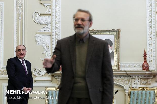 Larijani's meeting with Azeri FM