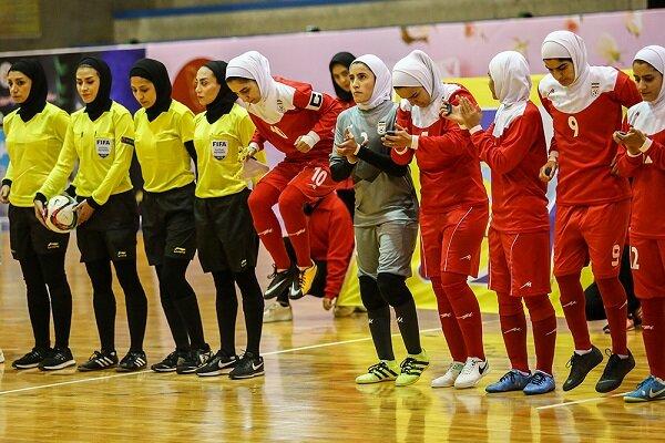 شکست ۳ بر صفر بانوان فوتسالیست ایران مقابل اسپانیا