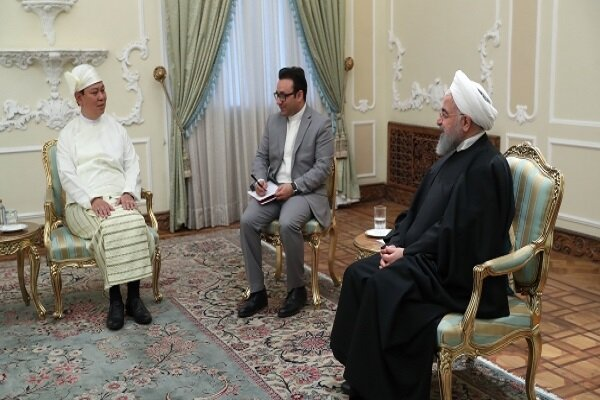 Iran ready to deepen, enhance ties with Myanmar: pres. Rouhani