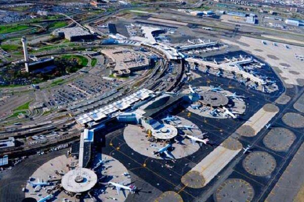 تعطیلی فرودگاه در آمریکا به دلایل امنیتی