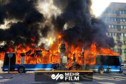 انفجار اتوبوس در سوئد