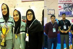 دانشگاه سمنان قهرمان رقابتهای دارت دانشجویان دختر کشور شد
