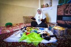 """İranlı büyükanneden """"Nevruz"""" hazırlığı"""